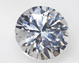 1.93 carats Custom Cut White Zircon ANGC842