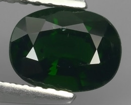 1.10 Cts Beautiful Chrome Tourmailne Oval Shape~Excellent!!