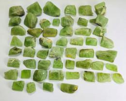 950 Carats Rough Peridot Crystal Parcel
