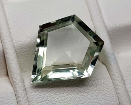 6.05Crt Green Prasolite  Natural Gemstones JI78