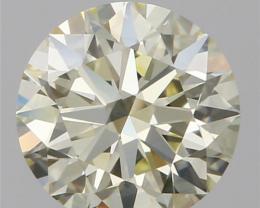 GIA VVS1 0.56CT DIAMOND WHITE COLOR COLLECTION PIECE IGCD