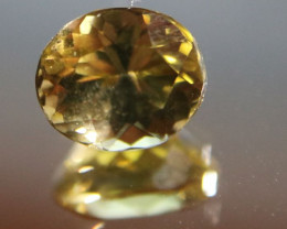 Yellow Zoisite 1.40ct Natural Untreated Oval