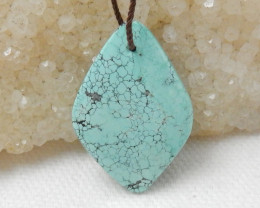 19cts Turquoise Pendant ,Natural Gemstone ,Turquoise Pendant F128