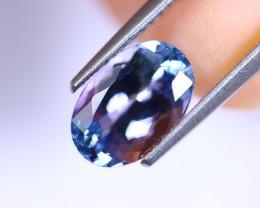 2.50cts Natural CERTIFICATE Violet Blue D Block Tanzanite / RD382