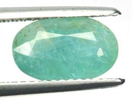 ~RAREST~ 2.15 Cts Natural Grandidierite Bluish Green Oval Cut Madagascar