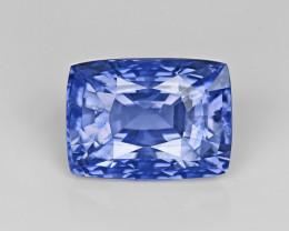 Blue Sapphire, 9.60ct - Mined in Sri Lanka | Certified by GRS