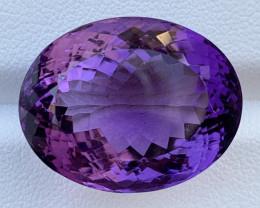 33.47 Carats Amethyst  Gemstones