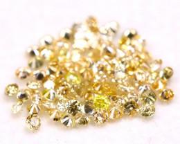 Mixed Fancy Diamond 0.84Ct 89Pcs Natural Mixed Color Fancy Diamond C0914