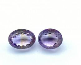 39.78 ct Ametrine Lot of 2 gemstones