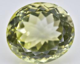 16.56 Crt Lemon Quartz Faceted Gemstone (Rk-77)