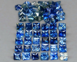 65 Blue Sapphire - 5.43 cts - 2/2.2 mm - Madagascar