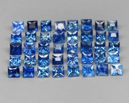 40 Blue Sapphire - 3.60 cts - 2.2to2.7 mm - Ceylon