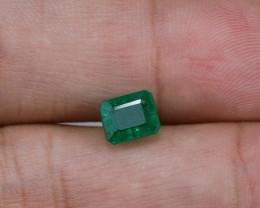 1.35ct Lab Certified Zambian Emerald