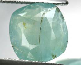 ~RARE~ 3.64 Natural Bluish Green Grandidierite Cushion Madagascar