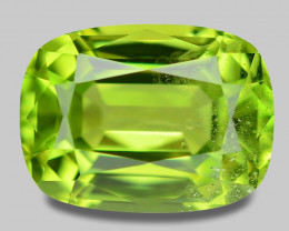 1.81 Cts Amazing Rare Fancy Green Natural Peridot Gemstone