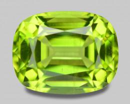 1.75 Cts Amazing Rare Fancy Green Natural Peridot Gemstone