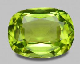 1.43 Cts Amazing Rare Fancy Green Natural Peridot Gemstone