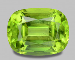 1.66 Cts Amazing Rare Fancy Green Natural Peridot Gemstone