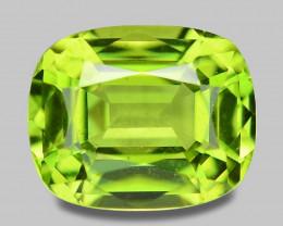 1.47 Cts Amazing Rare Fancy Green Natural Peridot Gemstone
