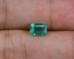 1.08ct Lab Certified Zambian Emerald