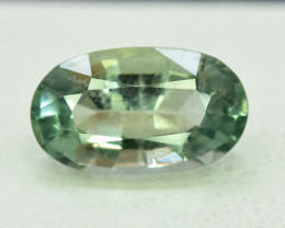3.80 Carats Oval Cut Natural Top Grade Color Greenish Aquamarine Beryl Gems