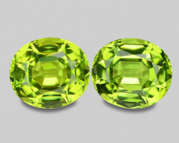 *NoReserve*1.66 Cts  Amazing Rare Fancy Green Natural Peridot Gemstone