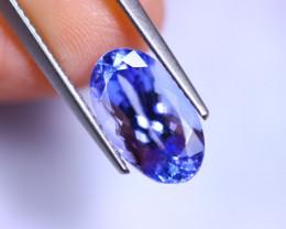 3.60cts Natural Violet Blue D Block Tanzanite / RD415