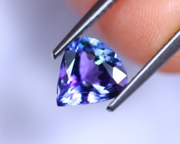 1.64cts Natural Violet Blue D Block Tanzanite / RD416