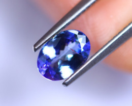 0.90cts Natural Violet Blue D Block Tanzanite / RD418