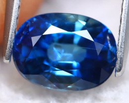Royal Blue Sapphire 2.01Ct VS Natural Vivid Royal Blue Sapphire B1010