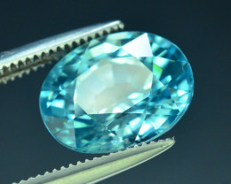 AAA Brilliance 4.70 ct Blue Zircon Cambodia