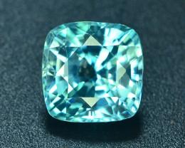 AAA Brilliance 3.35 ct Blue Zircon Cambodia