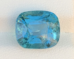 Royal Blue 6.28 Carats Natural Color Tourmaline Gemstone FROM AFGHANISTAN