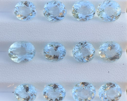 26.03 Carats Aquamarine Gemstones