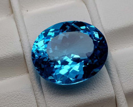 19.75Crt Blue Topaz Natural Gemstones JI79
