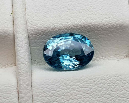 1.95Crt Blue Zircon Natural Gemstones JI79