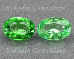 Natural Tsavorite Garnet No Treatment, VVS1 0.845 ct. LOT 535