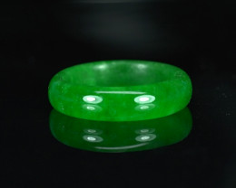 10.26CT JADEITE RING with TOP TRANSLUSCENT COLOR $1NR!