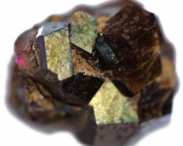 15.20 CTS RARE RAINBOW GARNET SPECIMEN  FROM JAPAN [MGW5420]