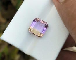 4.60 Ct Natural Bi Color Transparent Ametrine Gemstone