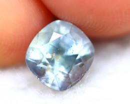 Unheated Sapphire 1.88Ct Natural Purplish Blue Sapphire D1125