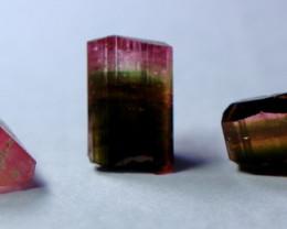30.80 CT Natural  Beautiful Pink Cap Tourmaline Crystal