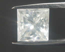 White Princess Diamond , Milky White Diamond , 0.46 cts