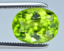 Amazing Green Color 2.80 Ct Natural Himalayan Peridot. RA