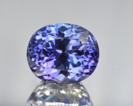 Natural Tanzanite 7.31 Cts Top Grade  Faceted Gemstone