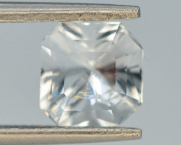 Asscher Cut 2.0 ct Natural  Attractive Color Aquamarine ~ B  G