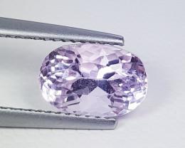 6.20 ct Top Grade Gem  Stunning Oval Cut Natural Pink Kunzite