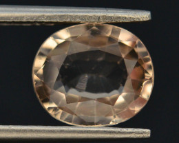 Top Quality 2.80 ct Champagne Color Topaz Skardu Pakistan~ G AQ