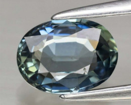 Natural Untreated Green Sapphire - 1.08 ct