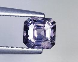 0.91 ct Top Grade Gem Square Cut Natural Purple Blue Spinel